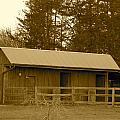 Horse Barn  by Frank Conrad