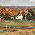 Horse Farm by Alan Mager