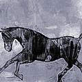 Horse Greyscale by Lutz Baar