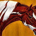Horse Head Study by Joy Reese