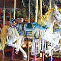 Horse On Carousel by Alice Gipson