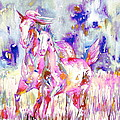 Horse Painting.16 by Fabrizio Cassetta