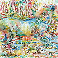Horse Painting.20 by Fabrizio Cassetta
