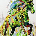 Horse Painting.26 by Fabrizio Cassetta