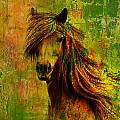 Horse Paintings 001 by Catf