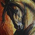 Horse Power by Silvana Gabudean Dobre