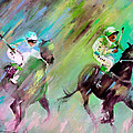 Horse Racing 04 by Miki De Goodaboom