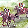Horse Racing by Faruk Koksal
