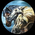 Horse Trio by Anthony DiNicola