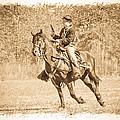 Horseback Soldier by Steve McKinzie