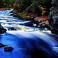 Horserace Rapids In Autumn by Matthew Winn