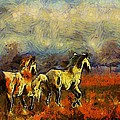 Horses On The Gogh by Shannon Story