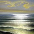 Horses Over Sea by Algirdas Lukas