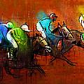 Horses Racing 01 by Miki De Goodaboom