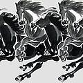 Horses by Rajesh Kalbhor