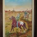 Horses by Ri Mo