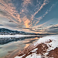 Horsetooth Sunset Hdr by Preston Broadfoot