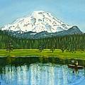 Hosmer Lake by Amelie Simmons