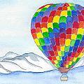 Hot Air Balloon 04 by Judith Rice