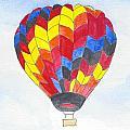 Hot Air Balloon 05 by Judith Rice