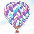 Hot Air Balloon 06 by Judith Rice
