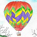 Hot Air Balloon 10 by Judith Rice
