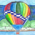 Hot Air Balloon 11 by Judith Rice