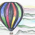 Hot Air Balloon 12 by Judith Rice
