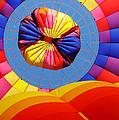 Hot Air Balloon by Julie Huffman