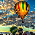 Hot Air Balloon Lift Off by Robert Bales