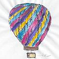 Hot Air Balloon Misc 02 by Judith Rice