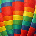 Hot Air Balloon Painterly by Ernie Echols