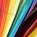 Hot Air Balloon Rainbow by Edward Fielding