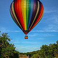 Hot Air Balloon Woodstock Vermont by Edward Fielding