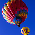 Hot Air Ballooning Together by Garry Gay