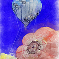 Hot Air Balloons Photo Art 03 by Thomas Woolworth
