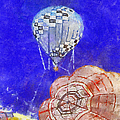 Hot Air Balloons Photo Art 04 by Thomas Woolworth