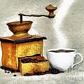 Hot Black Coffee by Michal Boubin