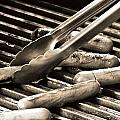 Hot Dogs On The Grill by Dan Sproul