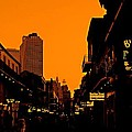 Hot Nights On Bourbon Street by Judy Hall-Folde