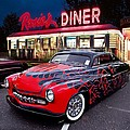 Hot Rod Diner Classic  by Kevin Moore