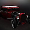 Hot Rod Ford Art by Steve McKinzie