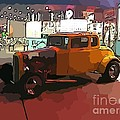 Hot Rod Icon by John Malone