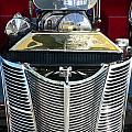 Hot Rod Polished Steel Engine And Grill by Jeff Lowe