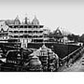 Hot Springs Arkansas Panoramic by Retro Images Archive