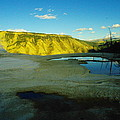 Hot Springs Yellowstone by Jeff Swan