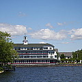 Hotel At Lake Winnipesaukee by Christiane Schulze Art And Photography