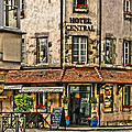 Hotel Central In Beaune France by Greg Matchick
