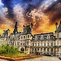 Sunset At The Hotel De Ville by Charmaine Zoe