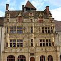 Hotel De Ville - Paray Le Monial by Christiane Schulze Art And Photography